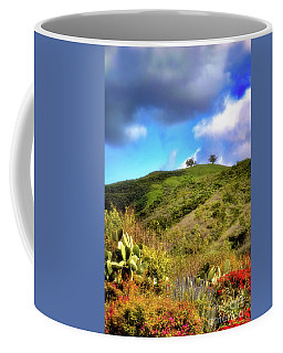 Coffee Mug featuring the photograph Two Trees In Spring by John A Rodriguez