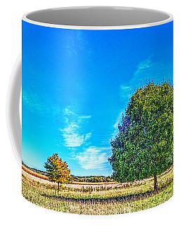 Two Trees On The Illinois Prairie Coffee Mug
