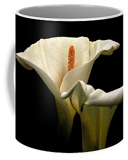 Coffee Mug featuring the photograph Two Lilies by Howard Bagley