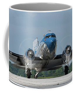 Two Turning - 2017 Christopher Buff, Www.aviationbuff.com Coffee Mug
