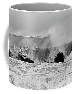 Two Waves Are Better Than One - Jersey Shore Coffee Mug