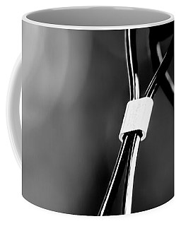 Two Wires On A Pole Coffee Mug