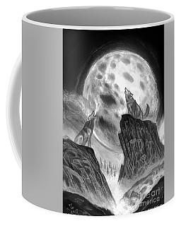 Two Wolves  Coffee Mug