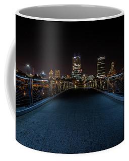 Two Worlds Meet Coffee Mug by James Meyer