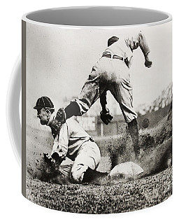 Ty Cobb Gets A Triple Coffee Mug