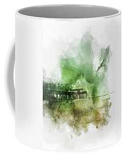 Tybee Island Pier Georgia Coffee Mug