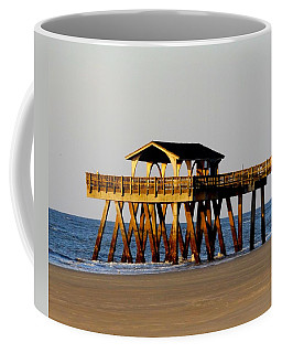 Tybee Pier Coffee Mug