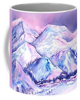 Typical Swiss Mountain Village Coffee Mug