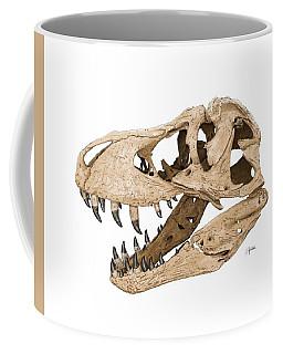 Tyrannosaurus Skull Coffee Mug