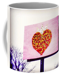 Tyson's Tacos Heart Coffee Mug