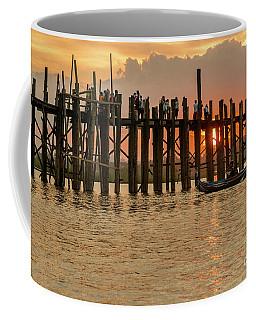 U-bein Bridge Coffee Mug by Werner Padarin