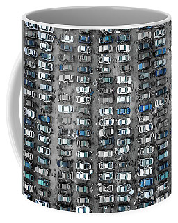 U-pull-and-pay Blue Coffee Mug