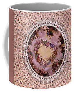 U S Capitol Dome Mural # 3 Coffee Mug