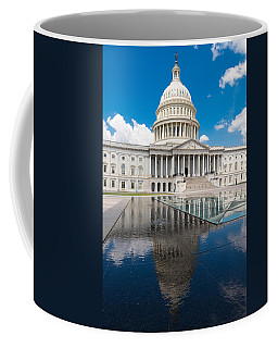 U S Capitol East Front Coffee Mug
