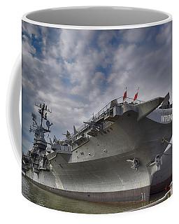 U S S  Intrepid     Coffee Mug