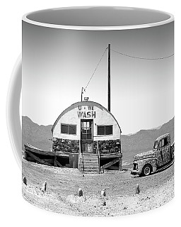 Coffee Mug featuring the photograph U - We Wash - Death Valley by Mike McGlothlen