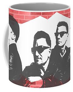 U2 Graffiti Tribute Coffee Mug