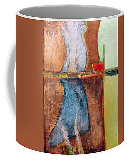 Coffee Mug featuring the painting Art Print U2 by Harry Gruenert