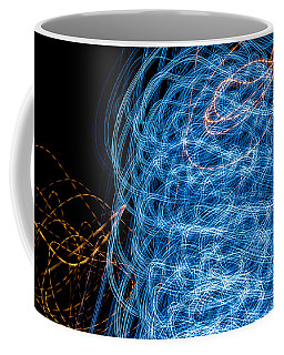 Ufa Neon Abstract Light Painting Sodium #7 Coffee Mug
