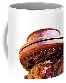 Ufo Landing At Joshua Trees Coffee Mug
