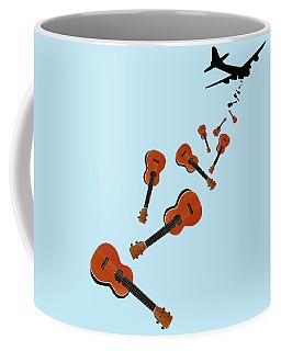 Ukes Not Nukes Coffee Mug