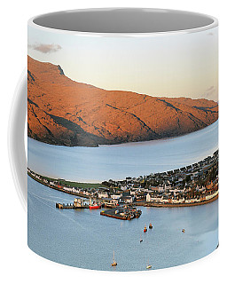 Coffee Mug featuring the photograph Ullapool Morning Light by Grant Glendinning