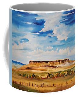 Ulm Montana First People's Buffalo Jump   93 Coffee Mug