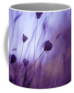 Ultra Violet Botanical Coffee Mug