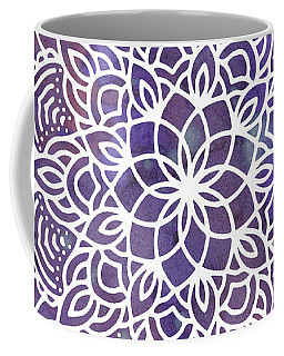 Ultraviolet Mandala Coffee Mug
