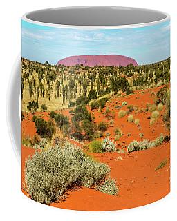 Coffee Mug featuring the photograph Uluru 01 by Werner Padarin