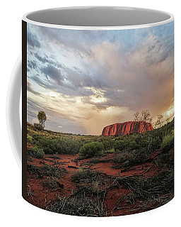 Uluru In The Distance Coffee Mug