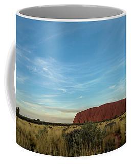 Coffee Mug featuring the photograph Uluru Sunset 02 by Werner Padarin