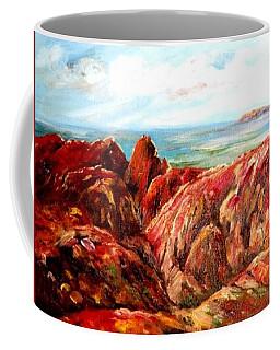 Uluru Viewed From Kata Tjuta Coffee Mug