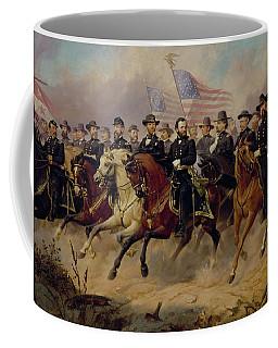 Ulysses S Grant And His Generals Coffee Mug