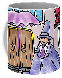 Umbrella Man Coffee Mug