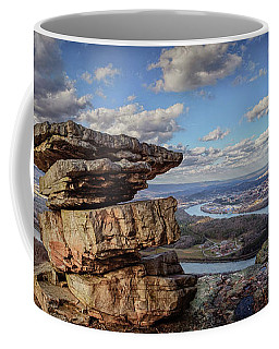 Umbrella Rock Overlooking Moccasin Bend Coffee Mug