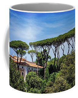 Umbrella Trees In Rome Coffee Mug