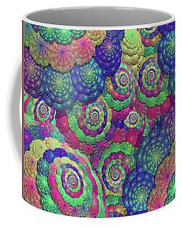 Umbrellas And Shells Coffee Mug