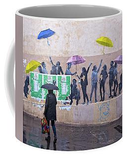Umbrellas In Paris Coffee Mug