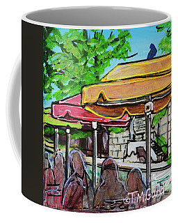 Umbrellas Coffee Mug