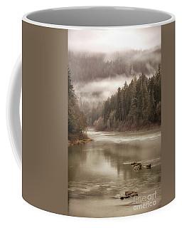 Umpqua River Fog Coffee Mug