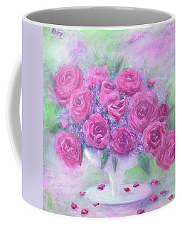 Armchair Rose Garden Coffee Mug
