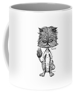 Unbalance Cat Coffee Mug
