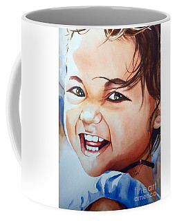 Coffee Mug featuring the painting Unbridled Joy by Michal Madison