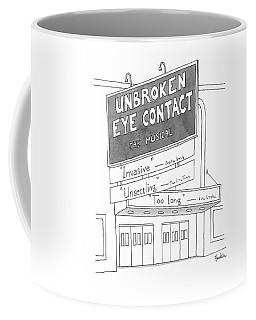 Unbroken Eye Contact The Musical Coffee Mug