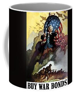 Uncle Sam - Buy War Bonds Coffee Mug