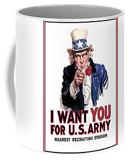 Uncle Sam -- I Want You Coffee Mug