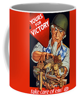 Uncle Sam - Yours For Victory Coffee Mug