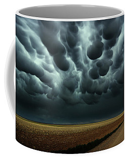 Under A Mammatus Sky Coffee Mug