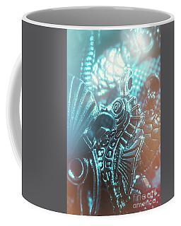 Under Blue Seas Coffee Mug